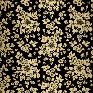Gold Flowers by VINRECH 3D x DOÉ