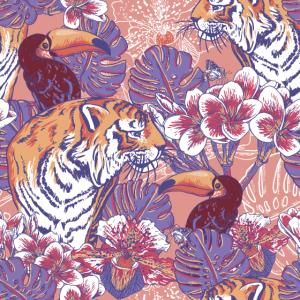 Dschungelmuster