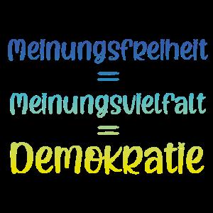 Freiheit Vielfalt Demokratie