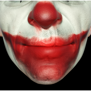 Joker Facemask Smile Clown Lustige Gesichtsmaske
