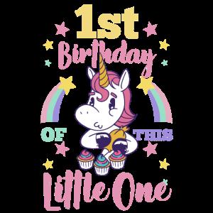 1. Geburtstag Einhorn Magie