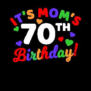 70. Geburtstag 70 Jahre alt 70. Party Geschenkidee