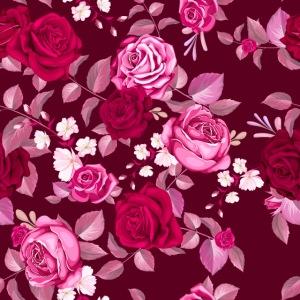 Pink Flowers by VINRECH 3D x DOÉ