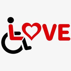 > Rolstoel liefde, rolstoelgebruiker, roller