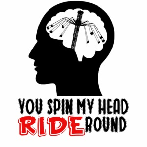 You spin my Head RIDE Round schwarz - ParkTube