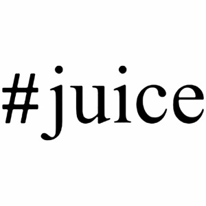 Black Hashtag Juice