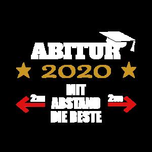 Abitur 2020 mit Abstand die Beste Geschenk