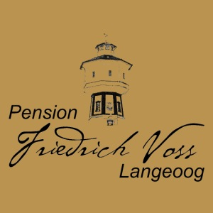 Logo Wasserturm Pension Voss schwarz