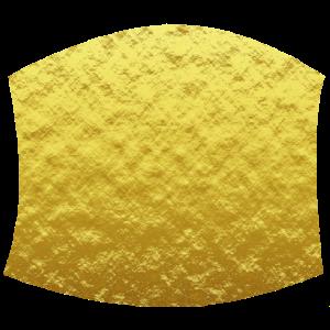 Gesichtsmaske Gold Fashion Look Goldene Maske