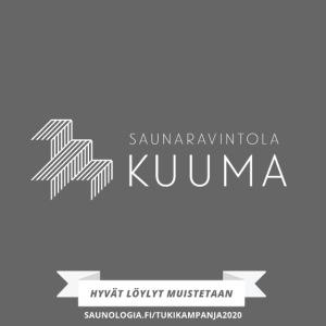Saunaravintola Kuuma - Musta