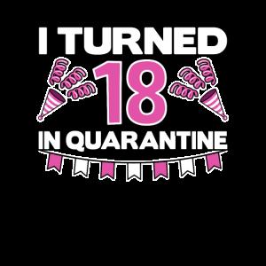 18 Geburtstag 18th 18. Corona Quarantäne Birthday