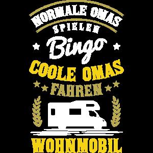 Coole Omas fahren Wohnmobil