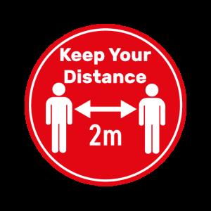 Abstand Distanz Corona Covid-19 Pandemie
