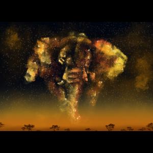 Nebulastars Elefant