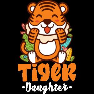 Tiger Tochter - Süße Mädchen Tiger Cub