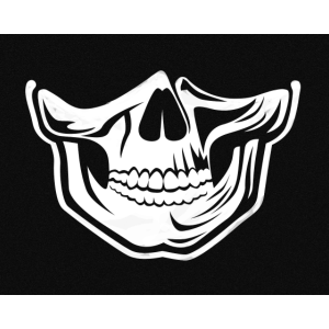 Skullgang Maske Mundschutz by HIGHRYSE INDUSTRIES