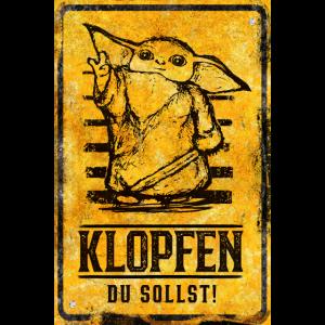 Kinderzimmer / WG / Lustiger Spruch / Poster