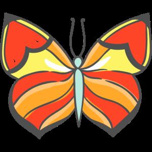 Schmetterling - Trendfarben 2020
