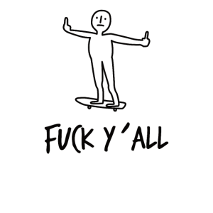Skateboarding Fuck Skateboard Skate Mittelfinger