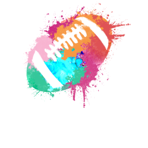 American Football Ball - Sport Art