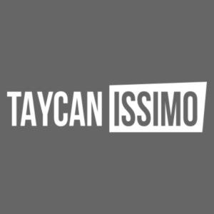 Taycanissimo logo white transparent