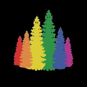 Bäume bunt