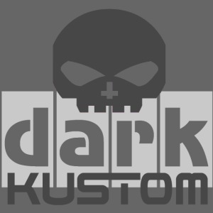 DARK KUSTOM Biker Bright-Carbon