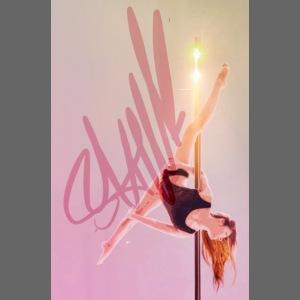 Pole Dance Lampe