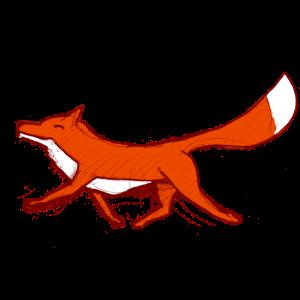 Fuchs, handgezeichnet