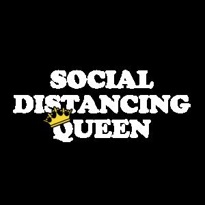 Königin soziale Distanz