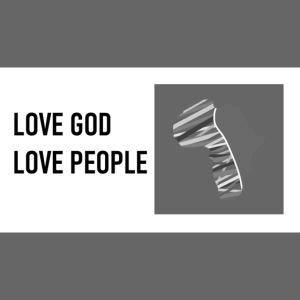 Love God - rectangle
