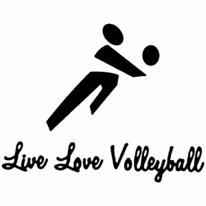 Black Live Love Volleyball