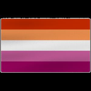 Distressed Lesbian Pride Flag