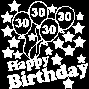 30 Jahre , Happy Birthday ...+