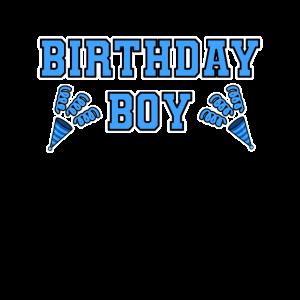 Birthday Boy Hellblau Geburtstag Junge Geschenk
