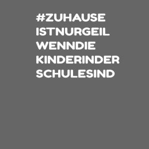 Witziger Quarantäne Isolation Spruch - Zuhause
