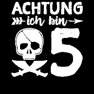 Achtung Ich Bin 5 - 5. Geburtstag