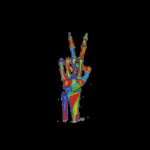 Knochenkunst Peace