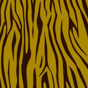 Tiger Muster Maske