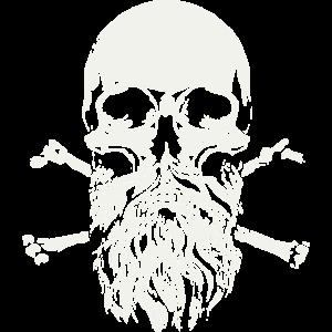 Bärtiger Schädel - Skull