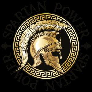 spartaner helm power spruch gold