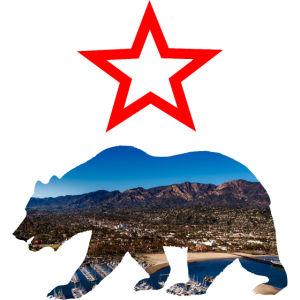 California Bär mit Stern