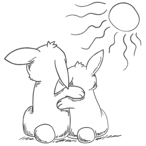 Hase Bunny Kuscheln Knuddeln Kuscheltier Ostern