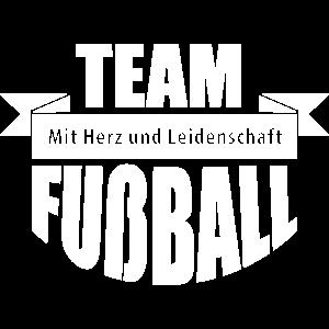 Team Fußball – Mannschaft Fan Teamshirt