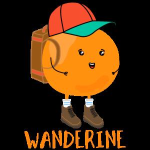 Wanderine - lustige Frucht zweideutig