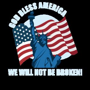 Amerika werden wir nicht kaputt sein