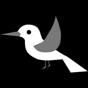 Vogel ohne Text