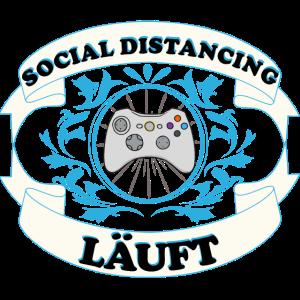 Social Distancing laeuft