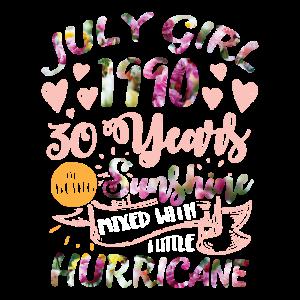 30. Geburtstag - 1990 Geburtstags Girl