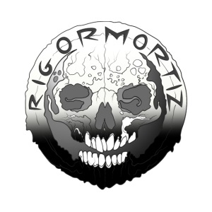 Rigormortiz Black White Design